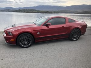 Kathy McLeya's 2014 Ford Mustang GT500 Loaded