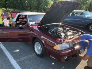 James David Odom's Mustang